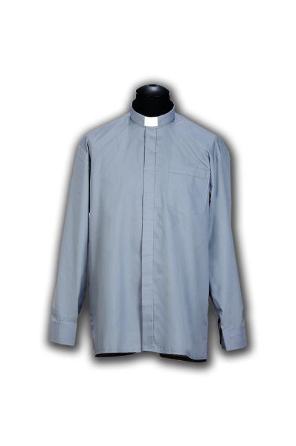 012.009 AS366 Koszula kapłańska długi rękaw 100% bawełna  DW1kn